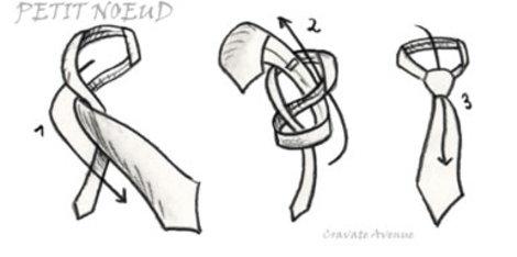 Symmetrischer krawattenknoten