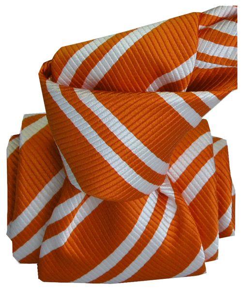Cravate_orange_segni_001