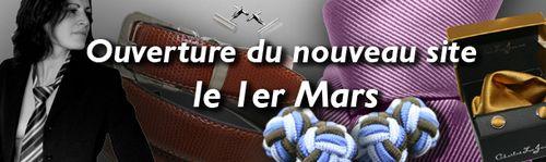 Mars 2010 Ouverture nouveau site cravate avenue copie