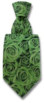 Tie Rose Green