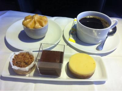 J'ai teste pour vous le menu affaire chez air France. Paris Tokyo.