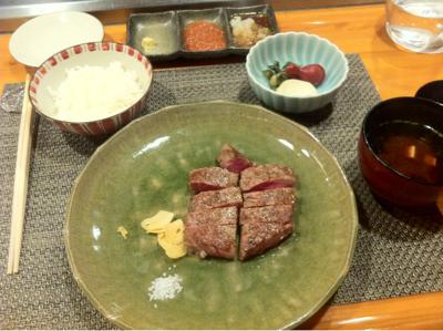 J'ai teste le Teppan Yaki du Hilton de Tokyo.