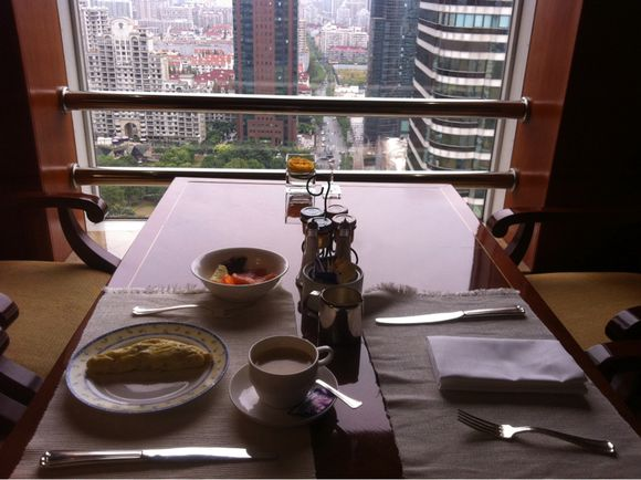 J'ai teste le club lounge au 27eme du Sheraton hongquiao