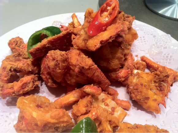 Fried lobster - linai Chine