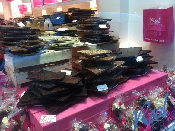 Boutique de chocolats à saint malo