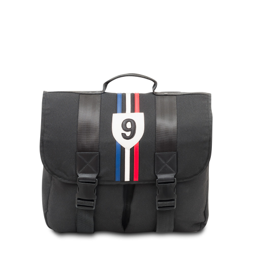 Cartable Mini France, sac cartable noir enfant