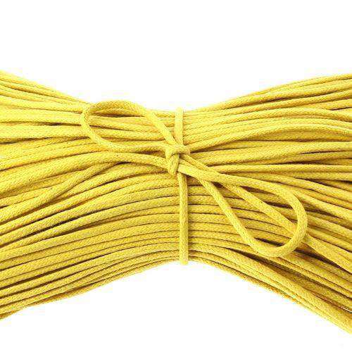 850029 lacets rond coton ciré Bouton d'or 70 cm 8187 [1600x1200]
