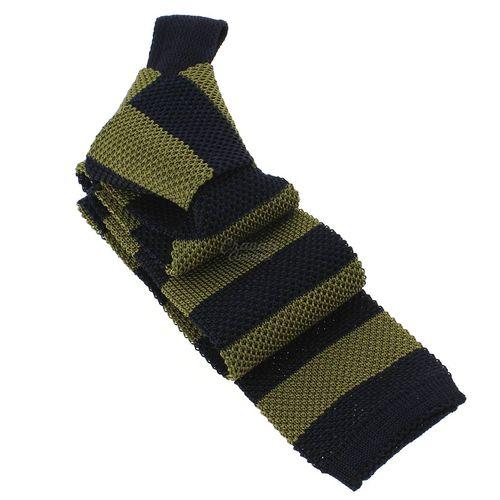 Cravate Tricot Club, Marine, Andalousie-2