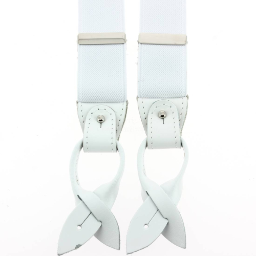 Bretelle 3 attaches Hercule, blanc pur