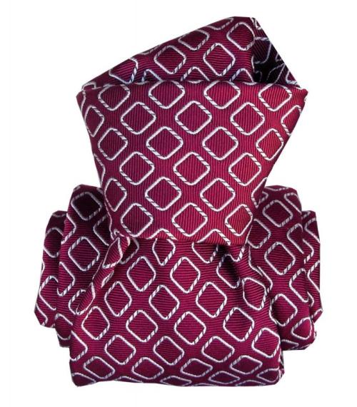 Cravate-segni-disegni-luxe-faite-main-aramis-framboise