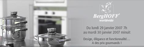 vente exclusive de mat riel de cuisine berghoff recette a la louche. Black Bedroom Furniture Sets. Home Design Ideas