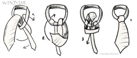 3 nudo de corbata c mo hacer un nudo de corbata hacer for Nudo de corbata windsor