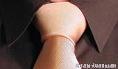 Der Krawattenknoten Halb Windsor