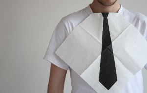 Cravateserviette
