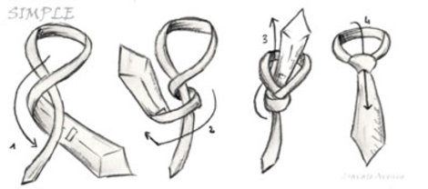 Four_in_hand_simple_tie_knot_how_to